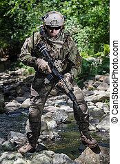 αναστάτωση , δασοφύλακας , ενωμένος , στρατόs