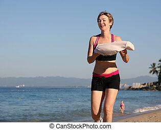 αναστατώνω , στην παραλία