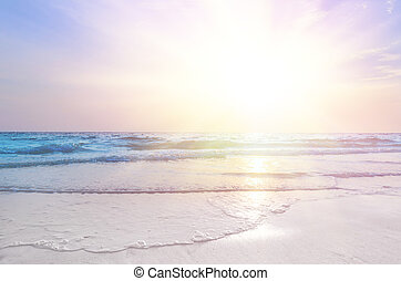 ανατολή , στη θάλασσα