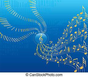 αναφερόμενος σε ψηφία ευχάριστος ήχος