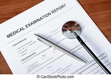 αναφορά , ιατρικός