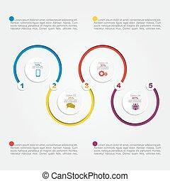 αναφορά , infographic, μικροβιοφορέας , template., εικόνα