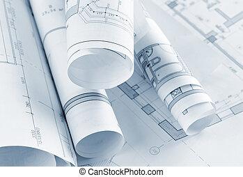 αναχωρώ από , αρχιτεκτονικός , project., απόχρωση