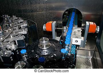 αναχωρώ από , πλύση , machine., εργοστάσιο , medicines.