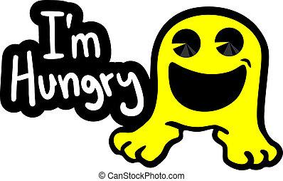 ανδρείκελο , πεινασμένος