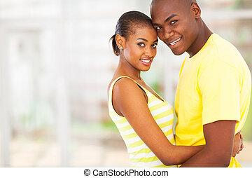 ανδρόγυνο αγαπώ , αφρικανός