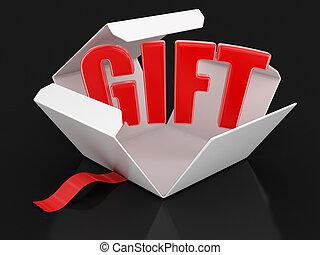 ανοίγω , δώρο , πακέτο