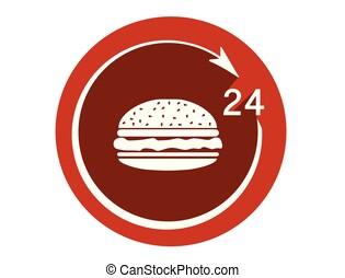 ανοίγω , 24 , εικόνα , ώρες , λουκάνικο , εστιατόριο