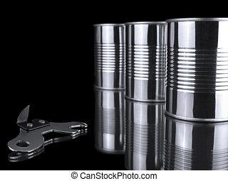 ανοιχτήρι , cans