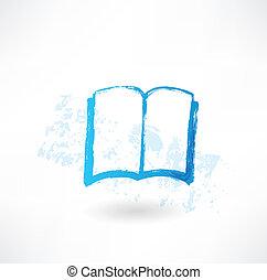ανοιχτό βιβλίο , grunge , εικόνα