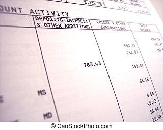 αντίγραφο κίνησης τραπεζικού λογαριασμού