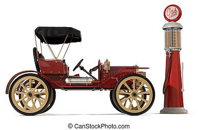 αντίκα άμαξα αυτοκίνητο , 1910
