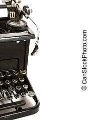 αντίκα , δακτυλογραφώ , συγγραφέαs