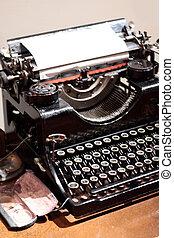 αντίκα , δακτυλογραφώ , writer.