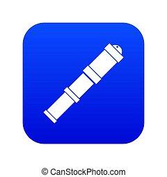 αντίκα , μπλε , εικόνα , τηλεσκόπιο , ψηφιακός