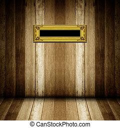 αντίκα , ξύλινο πλαίσιο , δωμάτιο , χρυσός