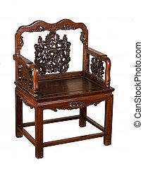αντίκα , hung-mu, κινέζα , chair.