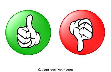 αντίστοιχος δάκτυλος ζώου ανακριτού , και , κάτω , κουμπί