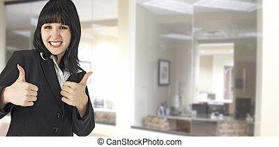 αντίστοιχος δάκτυλος ζώου , γραφείο , πάνω
