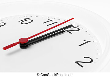 αντίστροφη μέτρηση , άσπρο , μεσάνυκτα , φόντο , ρολόι