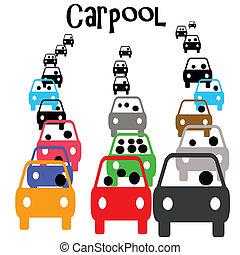 ανταλλάσω , carpool