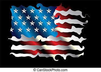 αντιστοιχίζω , αμερικανός , μικροβιοφορέας , τέχνη , γραμμή
