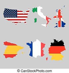 αντιστοιχίζω , εθνική σημαία