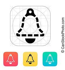 ανυπαρξία , δακτυλίδι , icon., καμπάνα