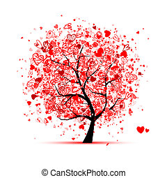 ανώνυμο ερωτικό γράμμα , δέντρο , με , αγάπη , για , δικό σου , σχεδιάζω