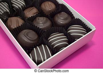 ανώνυμο ερωτικό γράμμα , σοκολάτα