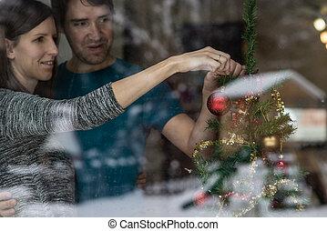 ανώριμος ανδρόγυνο , βάφω διακοπές χριστουγέννων αγχόνη