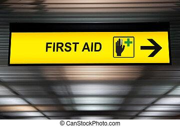 ανώτατο ύψος , θέση , σήμα , βοήθεια , απαγχόνιση , αεροδρόμιο , πρώτα , ιατρικός