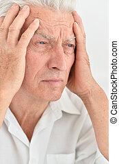 ανώτερος ανήρ , πονοκέφαλοs