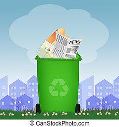 αξίες ανακυκλώνω , αποθήκη