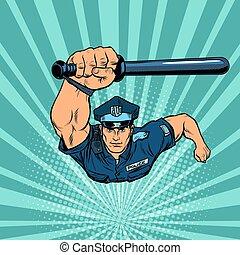 αξιωματικός , γκλομπ , αστυνομία