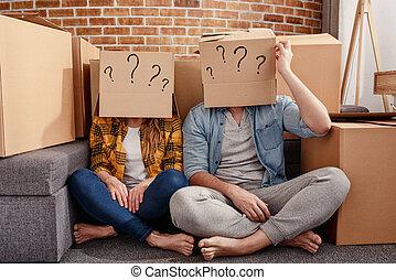απάτη , σύγχυση , σύγχυσα , αλλαγή , όλα , τακτοποιώ , μέλλον , επιτυχία , packages., γενική ιδέα , έχει , ζευγάρι , question., κίνηση