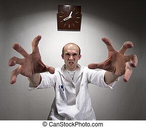 απαίσιος , γιατρός , θυμωμένος