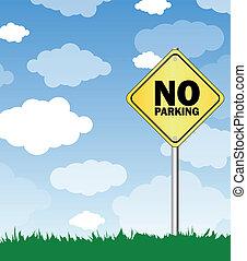 απαγορεύεται το παρκάρισμα
