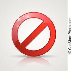 απαγόρευση , σήμα