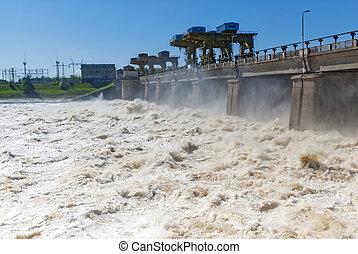 απαλλάσσω , από , νερό , για , hydropower , απάτη