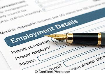 απασχόληση , μορφή