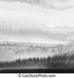 απεικονίζω , αφαιρώ , νερομπογιά , φόντο. , χαρτί , texture.