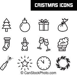 απεικόνιση , εικόνα , μικροβιοφορέας , εύθυμος , έτος , καινούργιος , xριστούγεννα