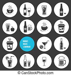 απεικόνιση , θέτω , πίνω , μικροβιοφορέας
