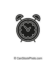 απλό , μικροβιοφορέας , ρολόι , εικόνα