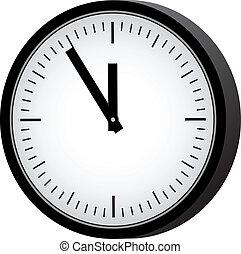 απλό , retro , ρολόι