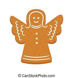 απογυμνώνω βούτημα , άγγελος , xριστούγεννα , σχήμα