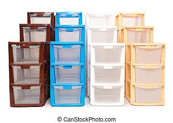 αποθήκευση , isola , πλαστικός , γραφείο , κουτί
