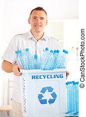 αποθήκη , ανακύκλωση , άντραs