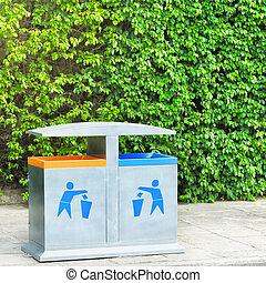 αποθήκη , ανακύκλωση , δυο